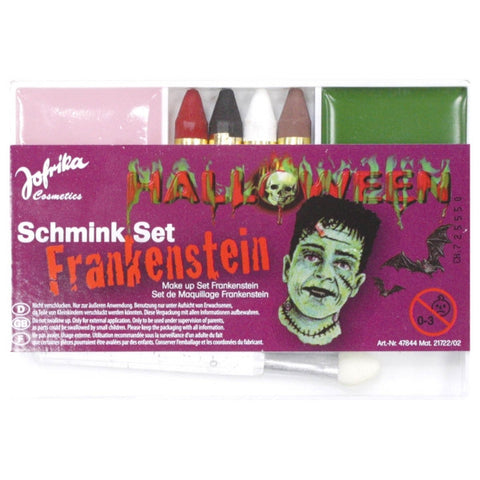 Halloween Schmink Set Frankenstein Makeup