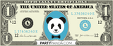 Panda Money 500 Dollar Noten