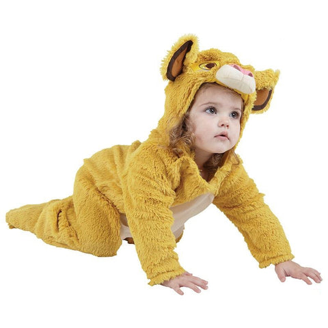 Simba lion costume for toddlers