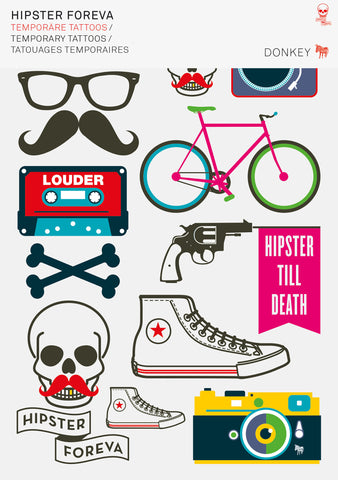 Tattoos - Hipster