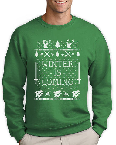 Winter Is Coming - Ugly Christmas Sweater