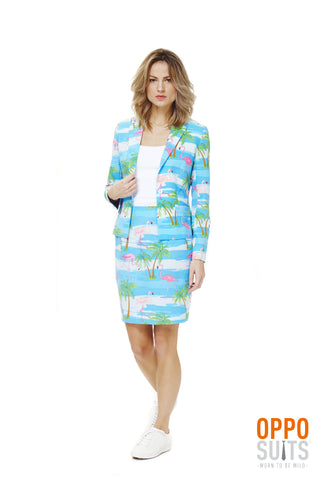 Flamingirl ladies suit