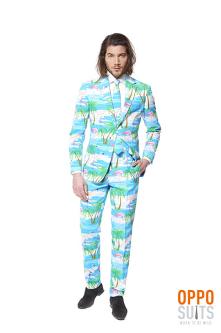 Opposuits Flaminguy Hawai Flamingo Party