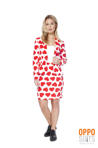 Queen of Hearts ladies suit