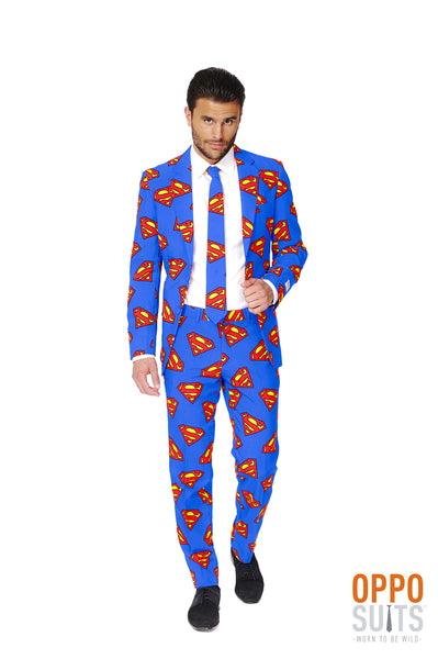 Opposuits Superman Comic Anzug