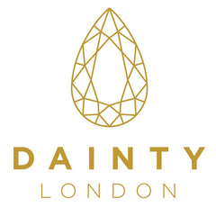 dainty london logo, dainty design