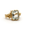 Giselle gold granule ring