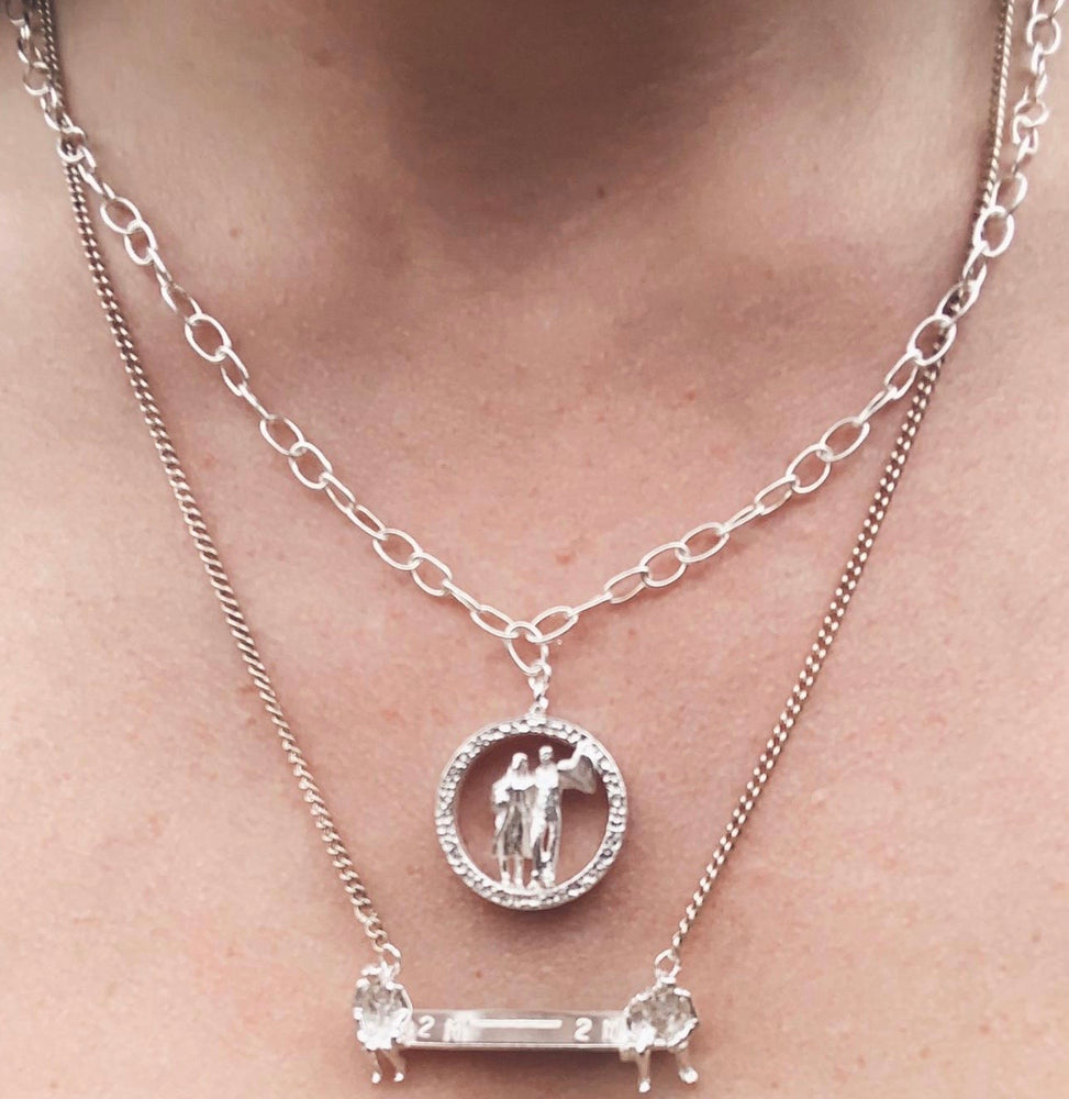 Social Distancing Charity Necklace