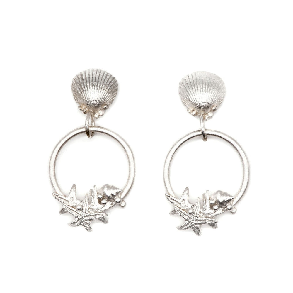 Silver Adastra Earrings