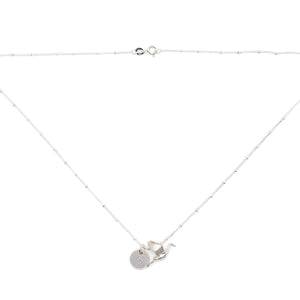 Silver 'Stork' Necklace