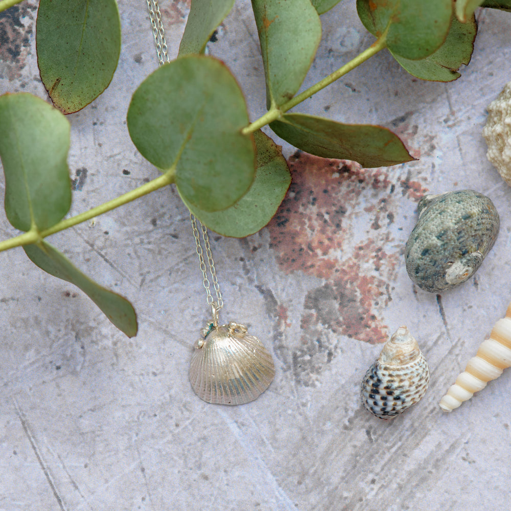 Dainty Seashell Necklace