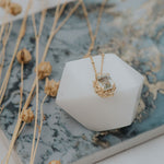 Solid Gold Seraphina Necklace