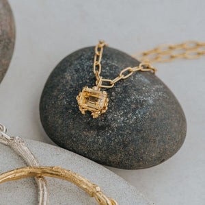 Large Gold Zennor Necklace