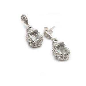 Bridal earrings. Wedding day jewellery sets. Sparkle earrings