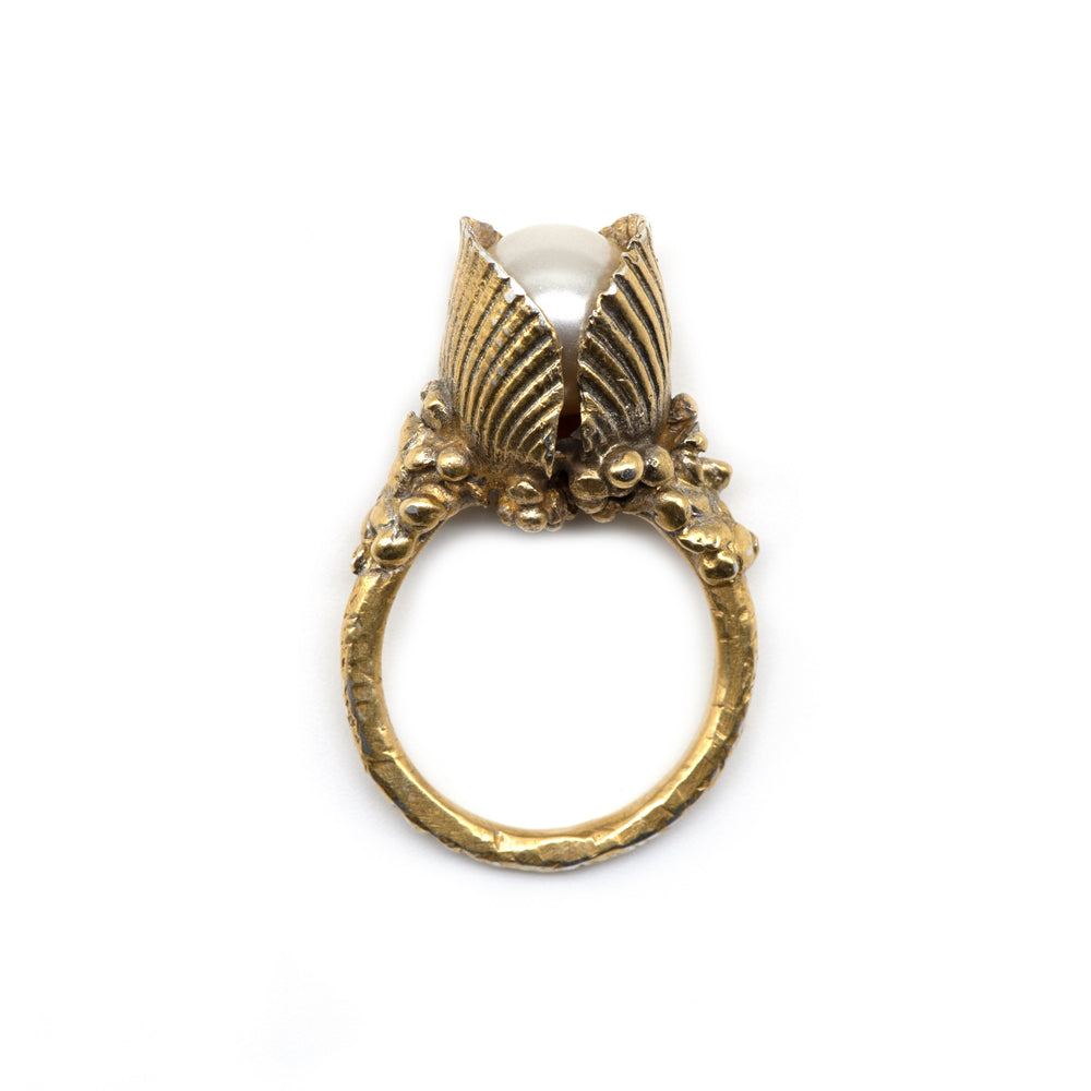 Naida Gold Mermaid Ring