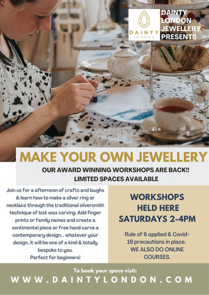FACE TO FACE (Christmas Special) Silver Necklace Workshop - Saturday 21st November