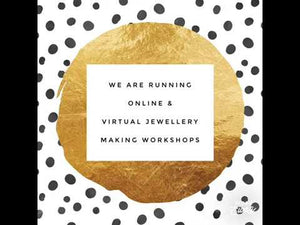 Load and play video in Gallery viewer, VIRTUAL Silver Necklace Workshop- Friday 13th November