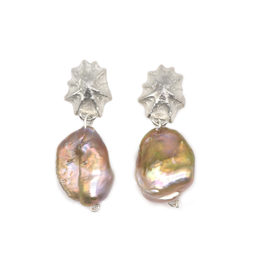 Naida Limpet Earrings