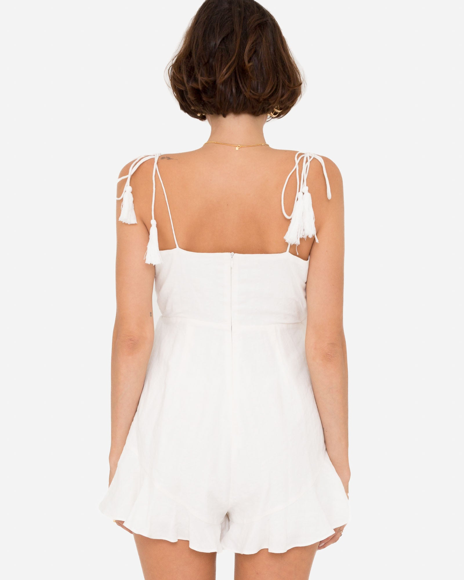 ETIENNE WRAP PLAYSUIT
