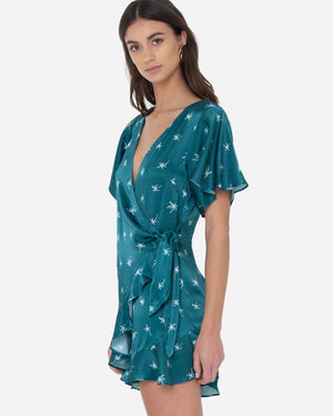 PALMIER SLEEVED PLAYSUIT