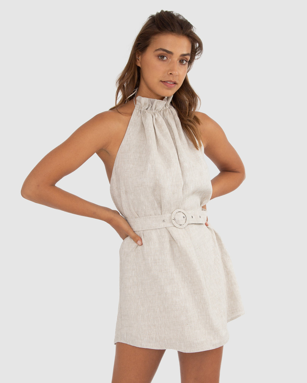 LUCIENE HIGH NECK DRESS