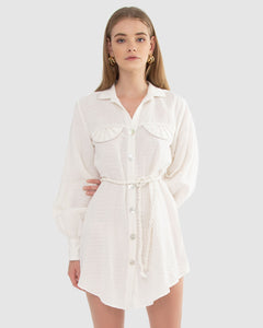 COQUILLE SHIRTDRESS