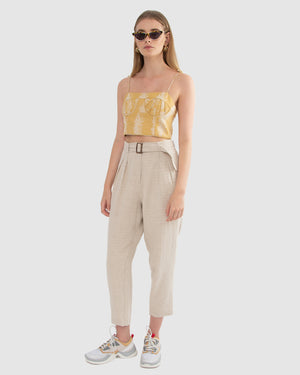 COQUILLE CROP TOP