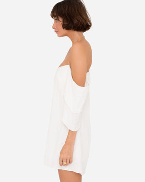 ETIENNE OFF-SHOULDER PLAYSUIT