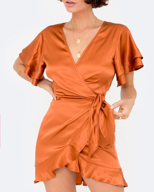 CHLOE WRAP DRESS