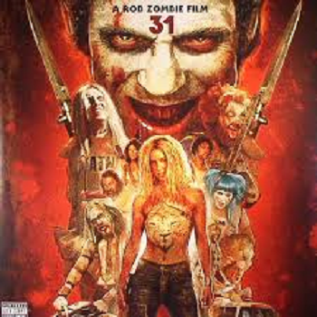 "31 OST by Rob Zombie/John 5/Bob Marlette/ Chris ""Zeuss"" Harris & others LP"