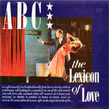 ABC ‎– The Lexicon Of Love LP