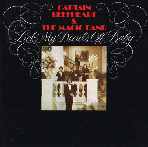 CAPTAIN BEEFHEART - Lick My Decals Off Baby  LP