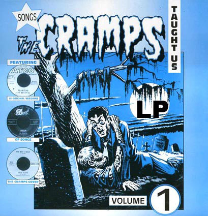v/a- SONGS THE CRAMPS TAUGHT US Vol 1 - LP
