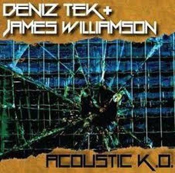 DENIZ TEK + JAMES WILLIAMSON - Acoustic K.O. 10""