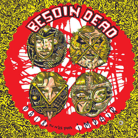 ** FLASH SALE ** BESOIN DEAD - Pair, Tu n'es pas Impair LP