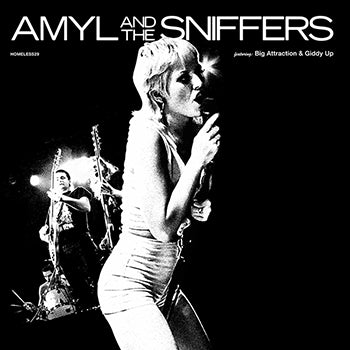 AMYL AND THE SNIFFERS - Big Attraction / Giddy Up CD