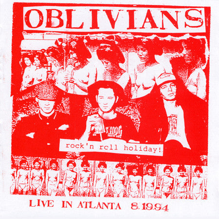 OBLIVIANS - Rock'n Roll Holiday! LP