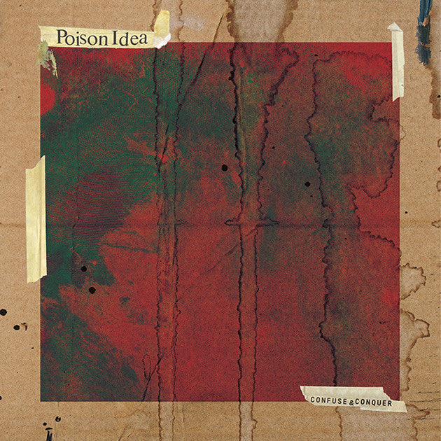 POISON IDEA - Confuse And Conquer LP
