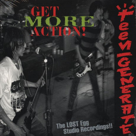 TEENGENERATE - Get More Action LP