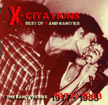 X - Citations Best of X and Rarities: The Early Years 1977-1983 LP