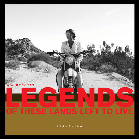 ** FLASH SALE ** ALI BELETIC - Legends Of These Lands Left To Live LP