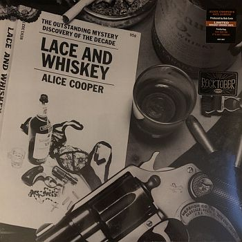 ALICE COOPER - Lace and Whiskey LP (colour vinyl)