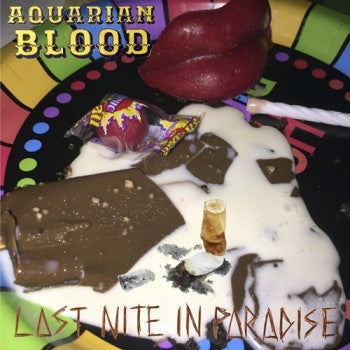 AQUARIAN BLOOD - Last Nite In Paradise LP