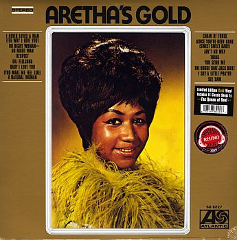 ARETHA FRANKLIN - Aretha's Gold LP