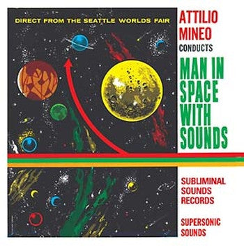 ATTILIO MINEO - Man In Space With Sounds LP