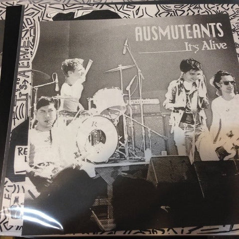 AUSMUTEANTS - It's Alive LP