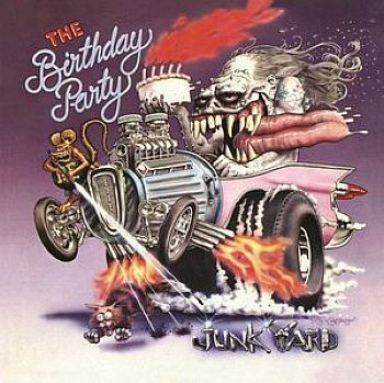 BIRTHDAY PARTY - Junkyard LP + Bonus 7""