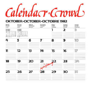 CALENDAR CROWD - Perfect Hideaway LP