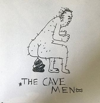 "CAVEMEN - Band In D.C. 7""EP"