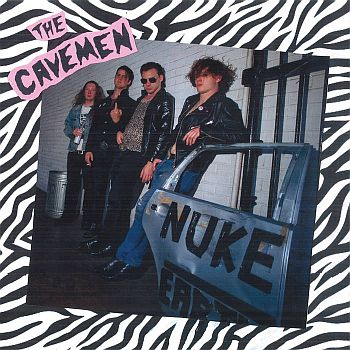 CAVEMEN - Nuke Earth LP / CD